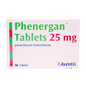 phenergan 25mg for dogs