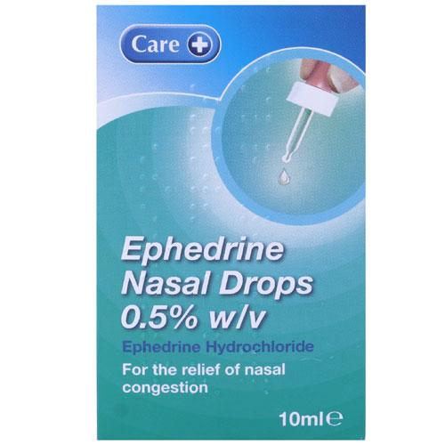 Click to view product details and reviews for Ephedrine Nasal Drops 05 10ml.