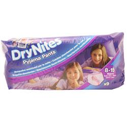 Pampers Dry Nites Pyjama Pants 8-15 Years Girls