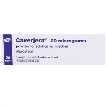 Caverject powder for injection 20mcg