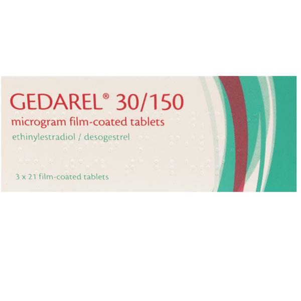 Gedarel 30/150 Microgram Film Coated Tablets