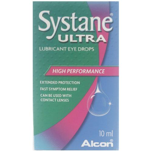 Systane Ultra- Lubricant Eye Drops