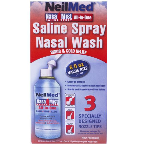 NeilMed Nasa Mist All In One Saline Spray
