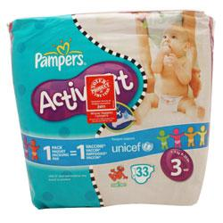 Pampers Active Fit Midi Nappies