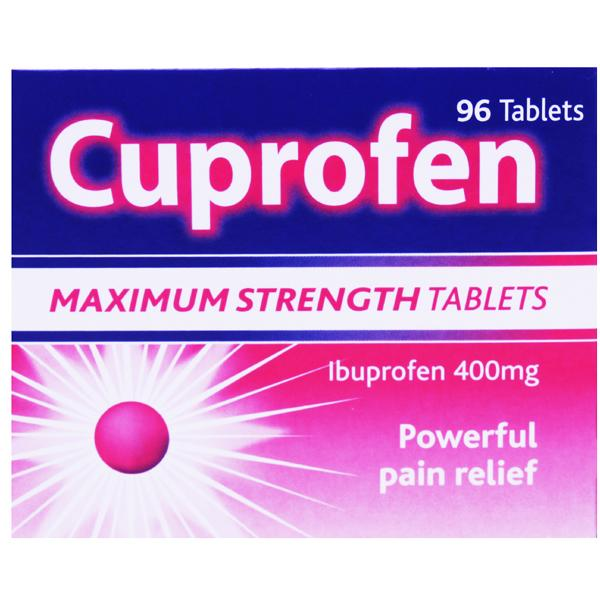 Cuprofen Tablets Maximum Strength