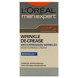 L'Oreal Men Expert Wrinkle De-Crease Moisturising Cream