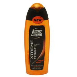 Right Guard Xtreme Fresh Energy Burst Shower Gel