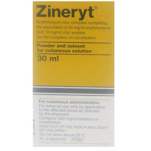 Zineryt Topical Solution 30mls