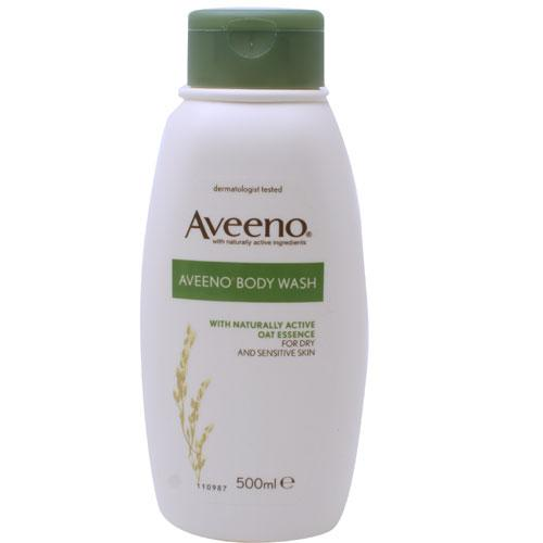 how to use aveeno body wash