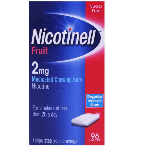 Nicotinell Original Fruit 2mg Chewing Gum