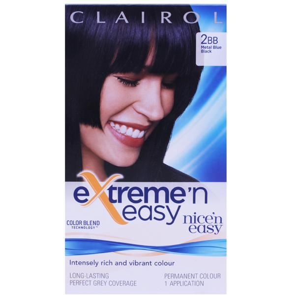 Clairol Extreme N Easy 2BB Metal Blue Black