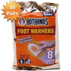 Hothands 50 Pairs Foot Warmers