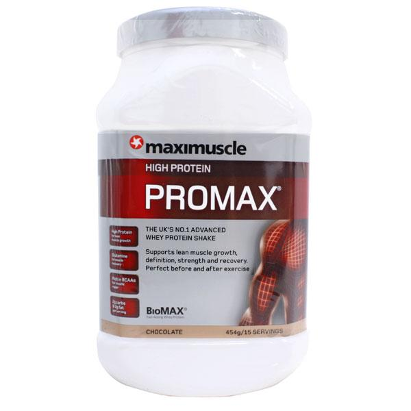 Maximuscle High Protein Promax-Chocolate Flavour