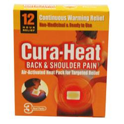 Cura Heat Back & Shoulder Pain 3