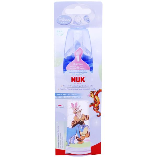 NUK Disney First Choice Bottle Blue 300ml