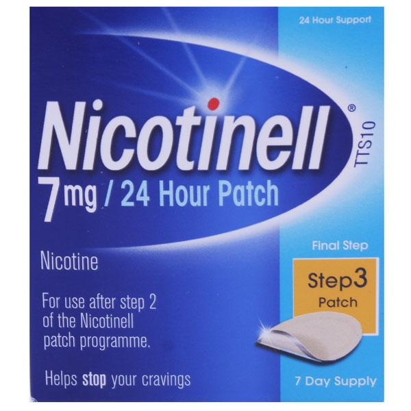 Nicotinell 7mg 24 Hour Patch Step 3