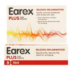 Earex Plus Ear Drops