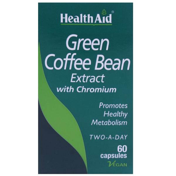 HealthAid Green Coffee Bean Capsules