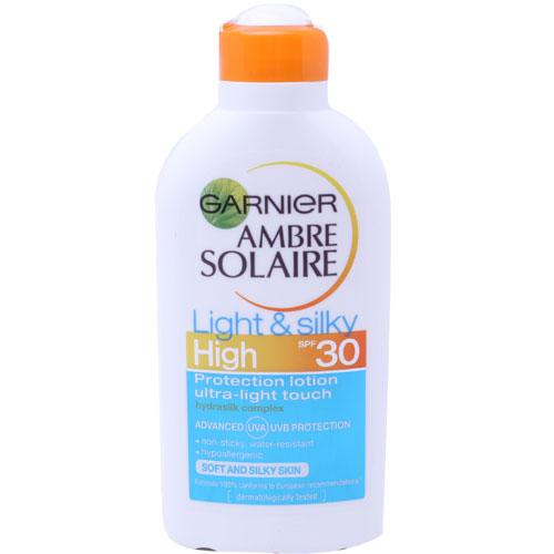 Ambre Solaire Light & Silky Lotion SPF30