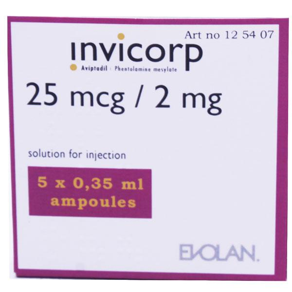 Invicorp 25mcg/2mg