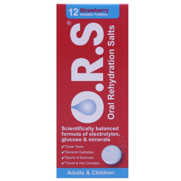Oral Rehydration Salts Strawberry Flavour