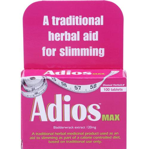 Adios Max Herbal Tablets