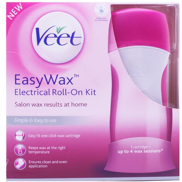 Veet EasyWax Electrical Roll On Kit