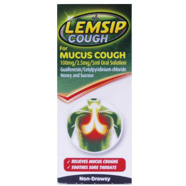 Lemsip Cough For Mucus Cough