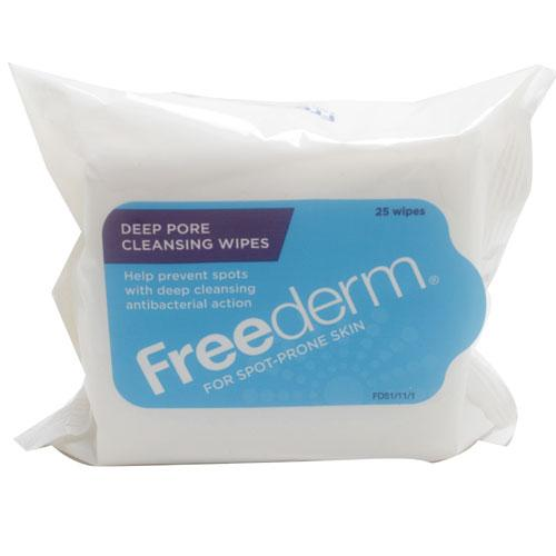 Freederm Deep Pore Cleansing Wipes