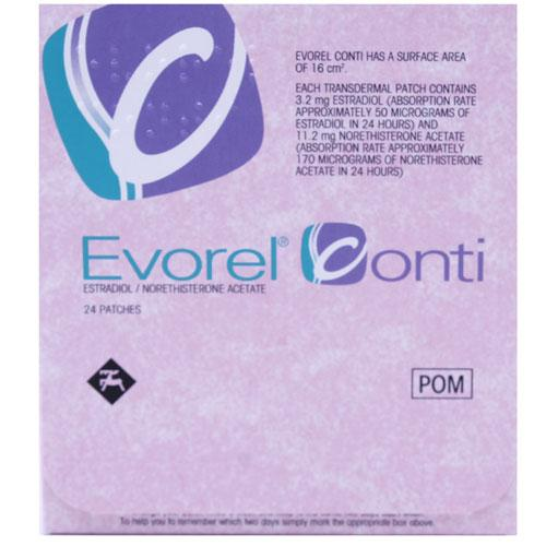 Evorel Conti 24 Patches