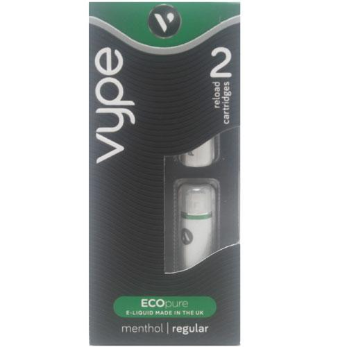 Vype Menthol Flavour Reload Cartridges