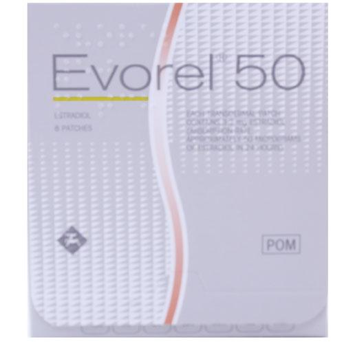 Evorel 50 Patches