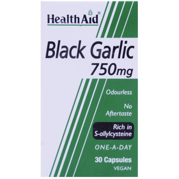 HealthAid Black Garlic 750mg Capsules