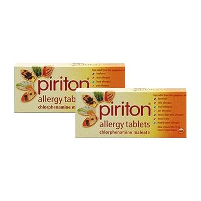 Piriton Allergy Tablets Twin Pack