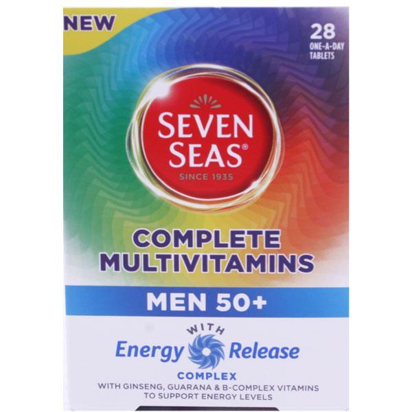 Seven Seas Multivitamins For Men 50+
