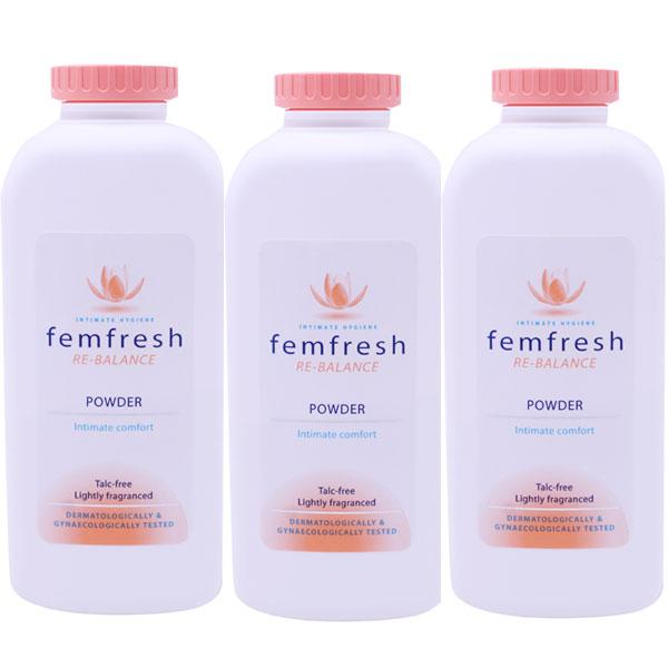 Femfresh Powder Triple Pack