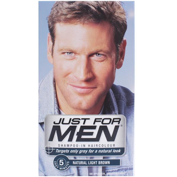 Just For Men H25 Shampoo-in Hair Colorant Light Brown