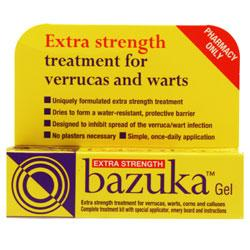 Bazuka Extra Strength Gel