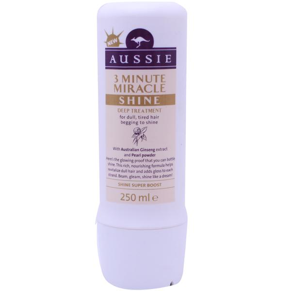 Aussie 3 Minute Miracle Shine Treatment