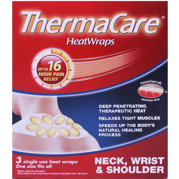 ThermaCare HeatWraps Neck Shoulder and Wrist