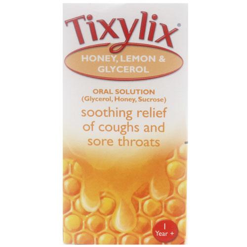 Tixylix Honey Lemon And Glycerol