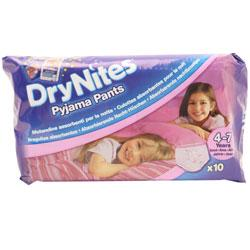 Huggies Dry Nites Pyjama Pants 4-7 Years Girls