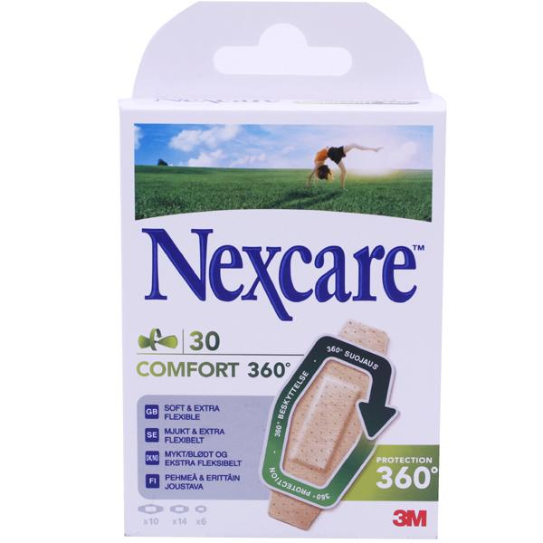 Nexcare Comfort 360 Assorted Strips