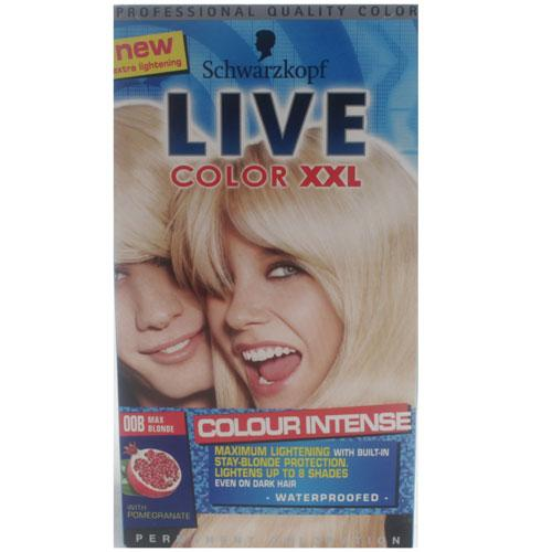 Schwarzkopf Live Color XXL Max Blonde
