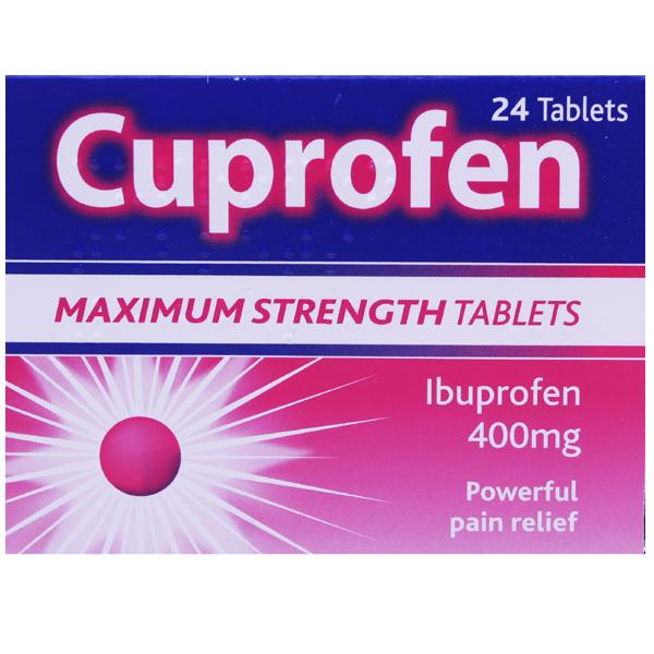 Cuprofen Maximum Strength Tablets