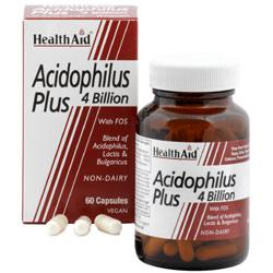 HealthAid Acidophilus Plus 4 Billion Capsules