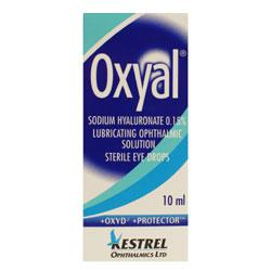 Oxyal Eye Drops