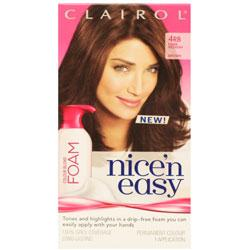 Clairol Nice'n Easy Foam 4RB Dark Reddish Brown