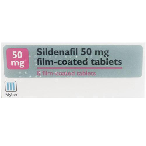 Sildenafil 50mg 8 Tablets
