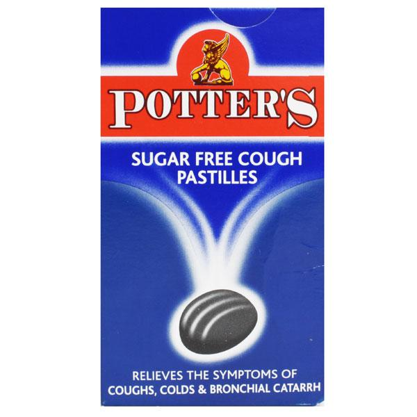 Potter's Sugar Free Cough Pastilles